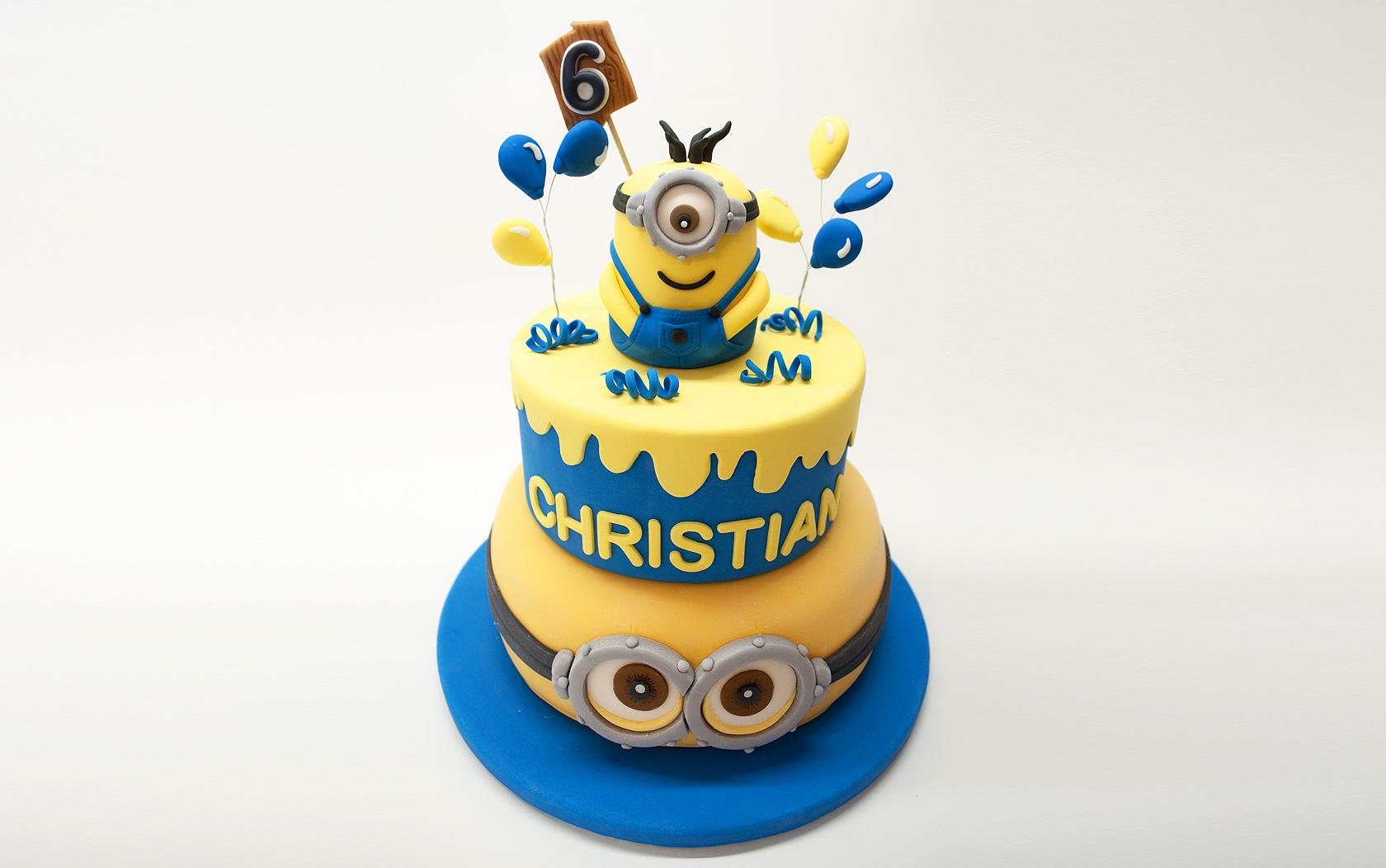 Fabuleux Torta di compleanno con i Minions | Manuela Raselli | Cake & Web  LT91